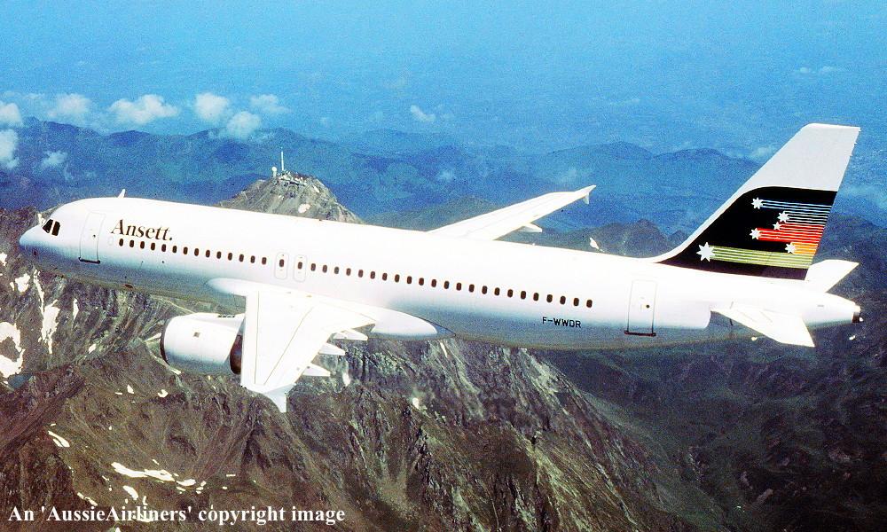 VH-HYA Airbus A320-211