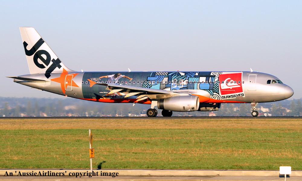 VH-VGZ Airbus A320-232