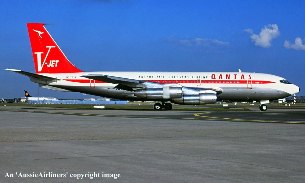 Vh Ebm Boeing 707 138b