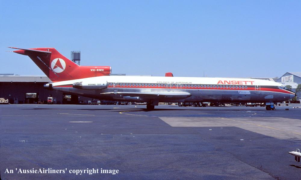 VH-RMK. Boeing 727-277...
