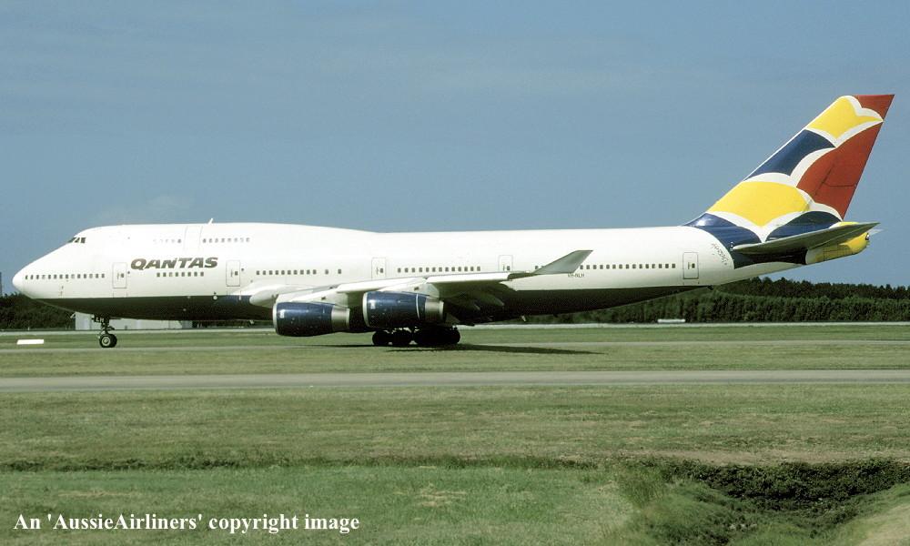VH-NLH Boeing 747-436