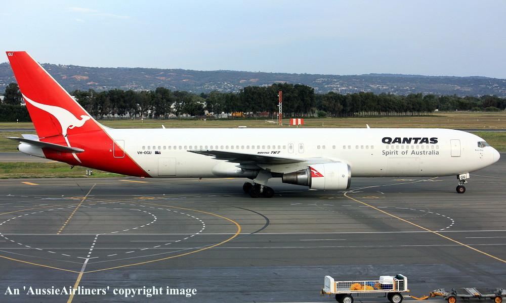 VH-OGU Boeing 767-338ER