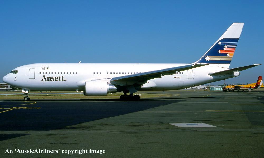 VH-RMD Boeing 767-277