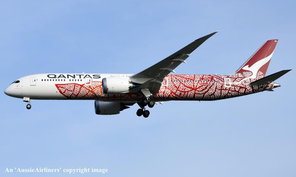 VH-ZND Boeing 787-9