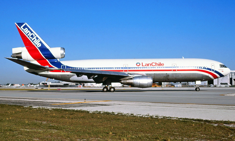 CC-CJT. LanChile - in the standard livery at Miami Airport, November ... Will Smith