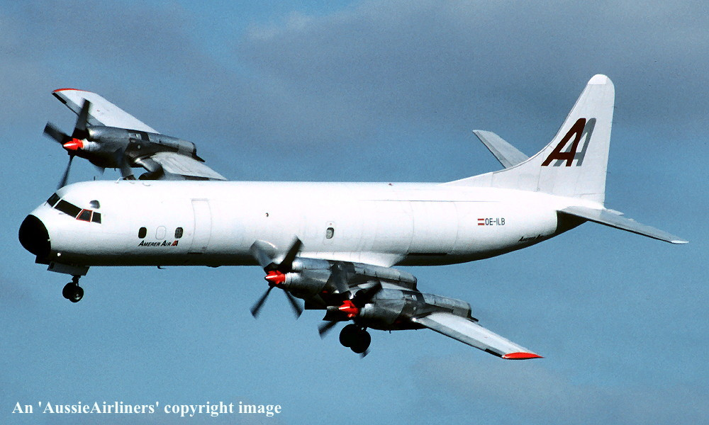 VH-RMA Lockheed 188A ELECTRA
